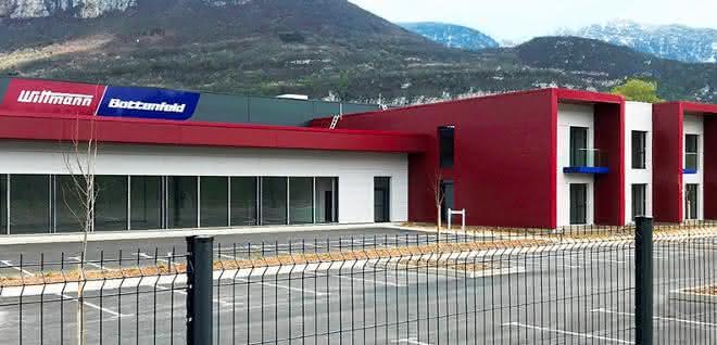 Neues Gebäude für Wittmann Battenfeld France