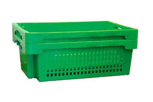Drehstapelbehälter: Vegetarisch und gut gestapelt