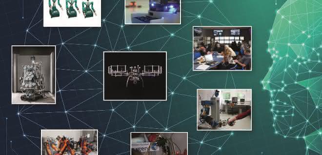 Vernetzte Roboter: Mit Roboterteams fremde Welten erkunden