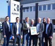 CSC-Zertifikat für Kleihues: Nachhaltig produzieren
