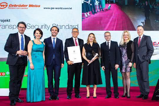 Transportsicherheit: Gebrüder Weiss erhält Hermes-Award