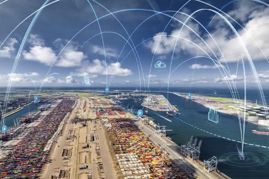 Digitalisierung: Echtzeitinformationen für den Hafenbetrieb