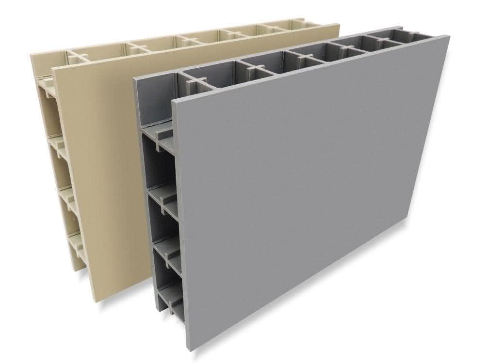 Behälterbauplatte