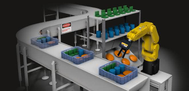 Integriertes Leistungspaket: 3D-Vision-Sensor am Roboter
