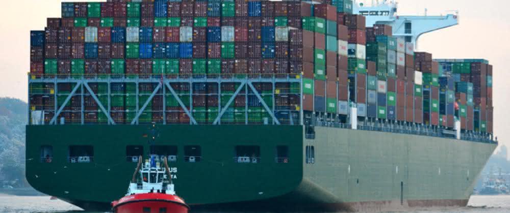 Neuer Asiendienst der Ocean-Allianz im Hamburger Hafen