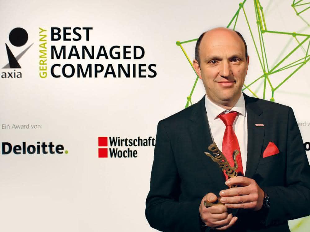 Axia Best Managed Companies Award: Kögel mit Award ausgezeichnet