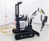 elektrischer Minibagger