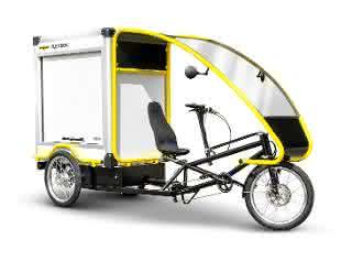 Humbaur präsentiert Lastenfahrrad FlexBike