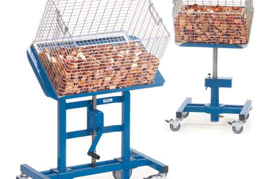 Ab sofort bietet Transportgerätehersteller fetra drei neue Varianten seiner Materialständer an.