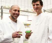 Dr. Tim Lachnit (links) und Dr. Peter Deines