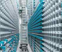 Intralogistik modernisiert: Doppelte Lagerkapazität