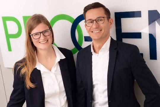 Geschäftsführerin Katja Betts und Geschäftsführer Maik Lander führen seit 1. April 2019 die Geschäfte der Progen Biotechnik.