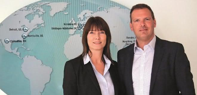 Kerstin Jung und Michael Eckert