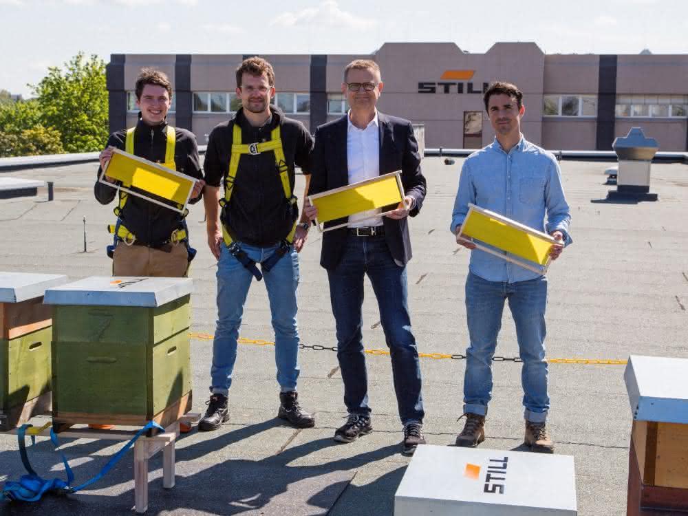 Umweltmanagement: Still setzt sich für Bienenvölker ein
