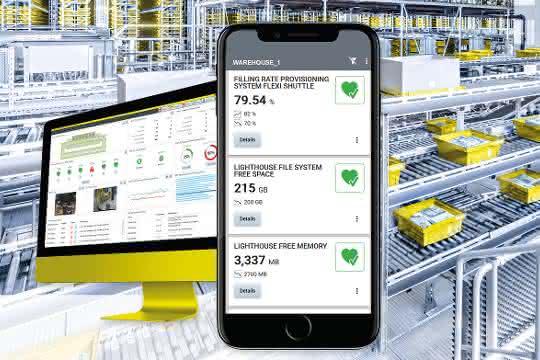 Auf der transport logistic präsentiert SSI Schäfer sein Software-Portfolio.