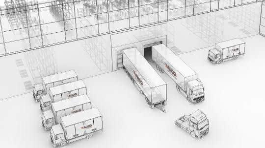 Garage Kasten Praxis.Logistiksoftware Setzt Auf Praxis Materialfluss Online