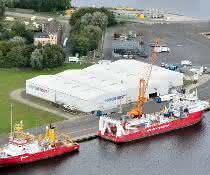 Nordfrost plant Fährverbindung Wilhelmshaven - Skandinavien