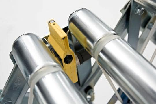 Auftaktförderer: Stauung von Produkten mit Sensoren