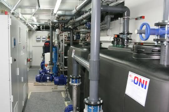 Energieoptimierte Doppelcontainer-Kühlanlage