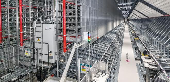 Logistikzentrum: Neue Logistik bei laufendem Betrieb