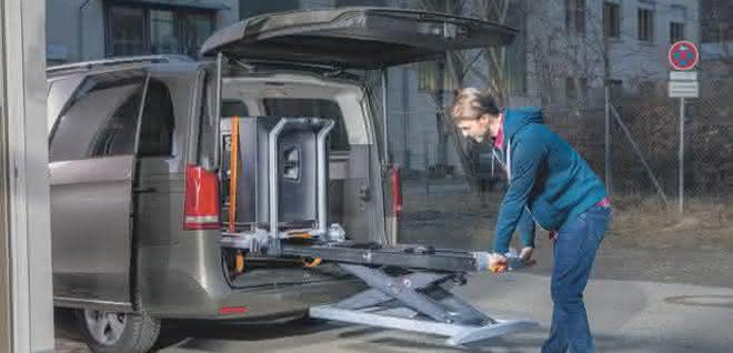 Mobiles Transportsystem
