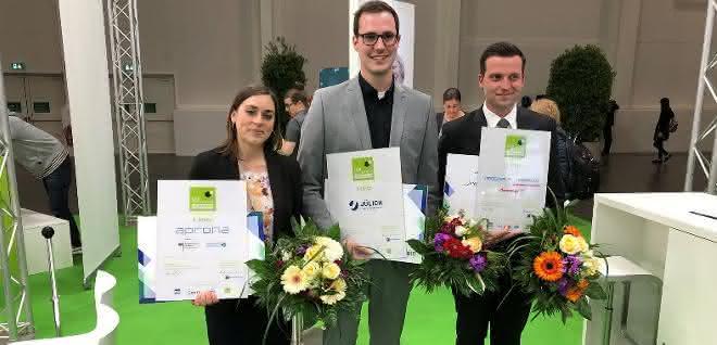 Die Preisträger des Labvolution Award.