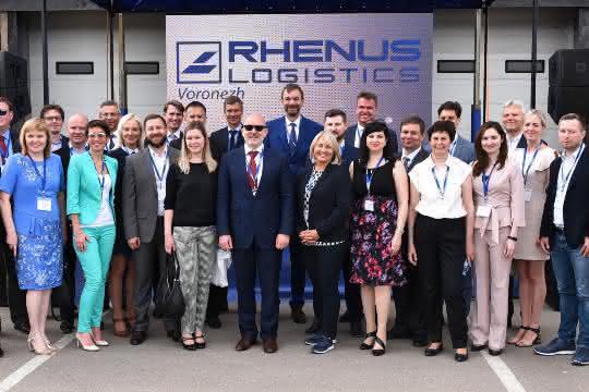 Rhenus eröffnet Logistikanlage im russischen Woronesch