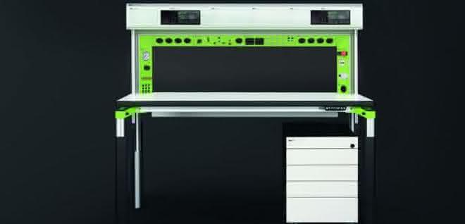 Arbeitsplatz- und Möbelsystem Elneos Connect