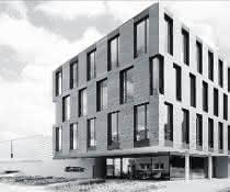 Das Hettich-Gebäude in Tuttlingen