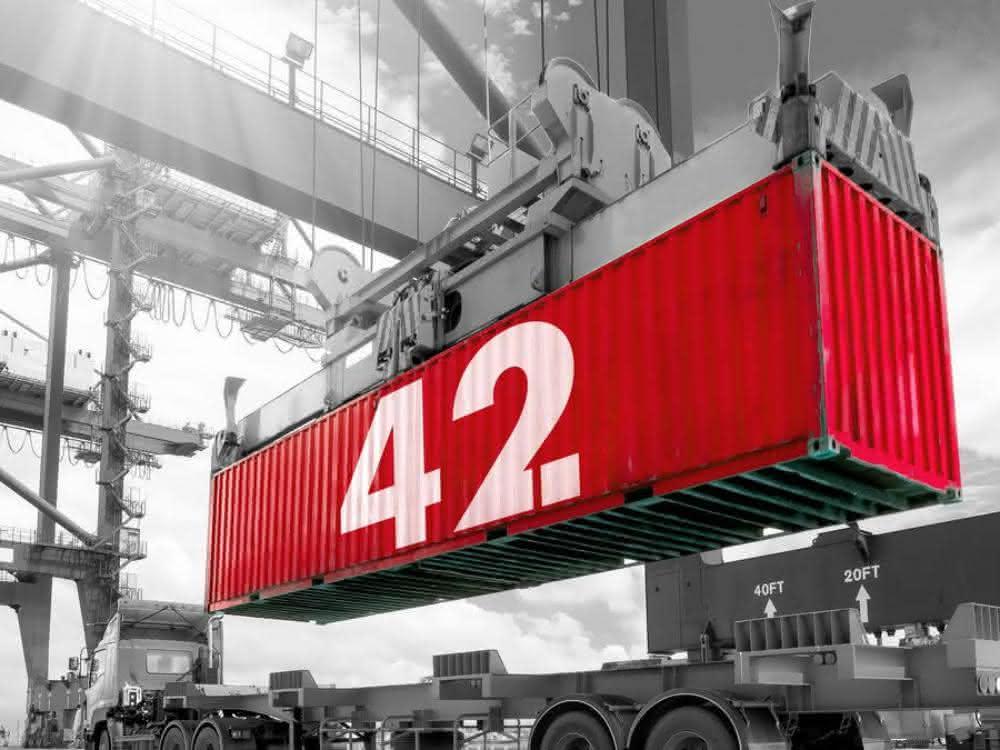 Rotterdam schickt hyperintelligenten Container auf Weltreise