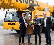 Knoll verstärkt Fuhrpark mit Liebherr-Mobilkran