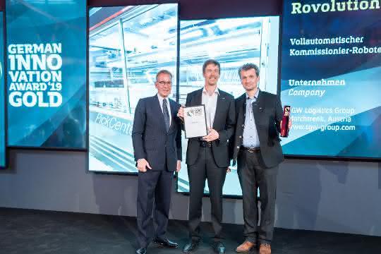 Flexible Kommissionierlösung: German Innovation Award 2019 an TGW verliehen