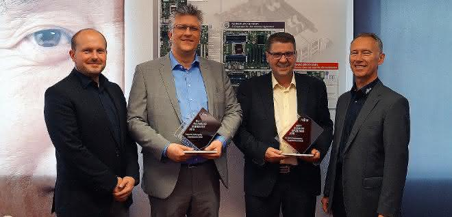 """Best Mainboard Distributor 2018""-Award an Rutronik"