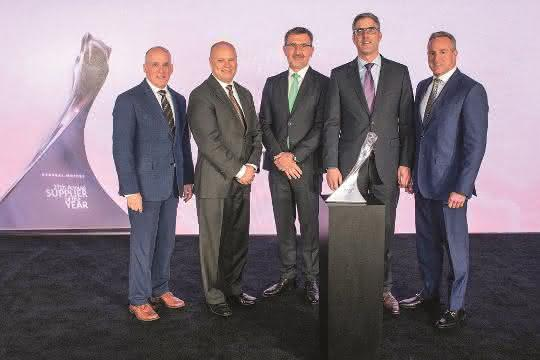Bühler Motor: Auszeichnung von General Motors
