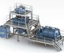 Heißwaschanlagen können – auch in bereits vorhandene –kontinuierliche Recyclingprozesse eingebunden und mit weiteren Verfahren kombiniert werden.