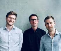 Das Autorenteam der Studie (v.l.n.r.): Ludwig Pachmayr, Dr. Veit Buchholz, Dr. Simon Grassmann.