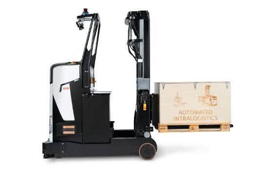 Der automatisierte Schubmaststapler Rocla ART, der auf der LogiMAT vorgestellt wurde, ist der jüngste Lösungs-Beitrag im Bereich Intralogistikautomatisierung von Rocla.