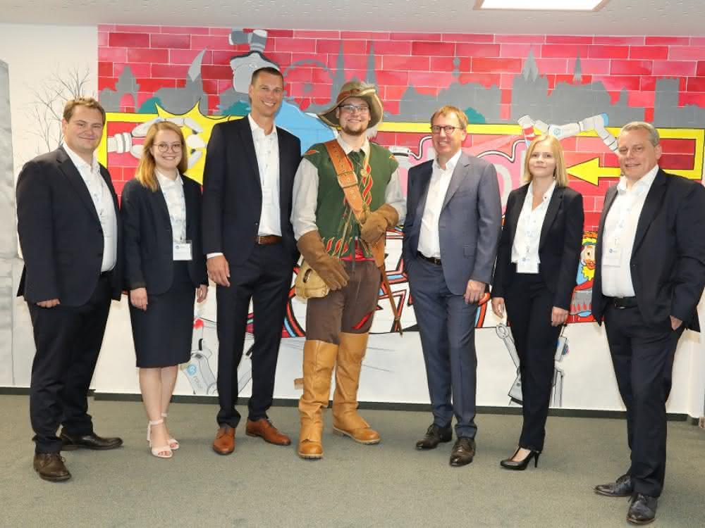 Eröffnungsfeier in Soest