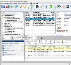 Screenshot aus dem Wartungsplaner-Programm