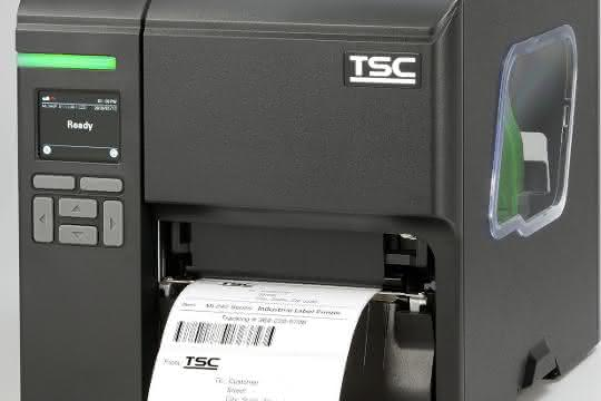 Industriedrucker: Platzsparend etikettieren