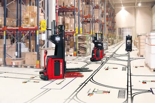 Simulationslösung: Transportrobotik mit 3D-Punktewolke planen