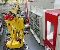 Aktueller Stand der vollautomatisierten Fertigungszelle