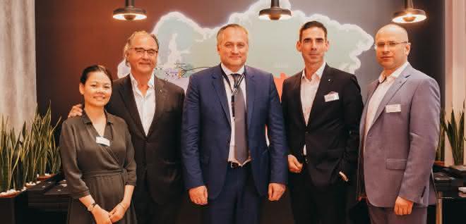 Kooperation ausgebaut: Zusammenarbeit auf der eisernen Seidenstraße