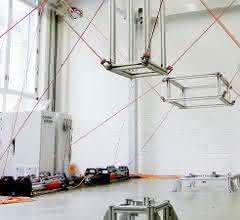 Seilroboter-Versuchsstand