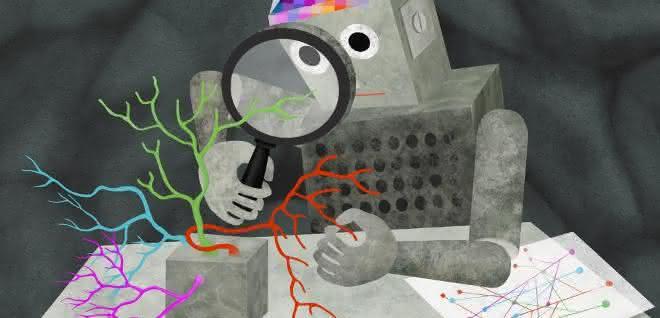 Abstrakte Darstellung Künstliche Intelligenz