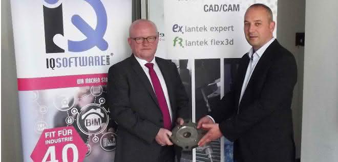 Blechbearbeitung im Stahlbau: Lantek und IQSoftware vereinbaren Kooperation