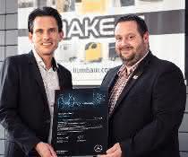 Zertifizierungsprozess abgeschlossen: Humbaur ist VanPartner von Mercedes-Benz