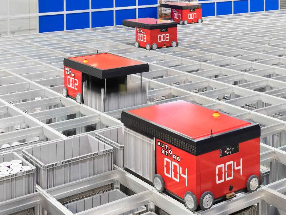 Kompakt und automatisiert: AutoStore sorgt für mehr Effizienz bei Wäschespezialist