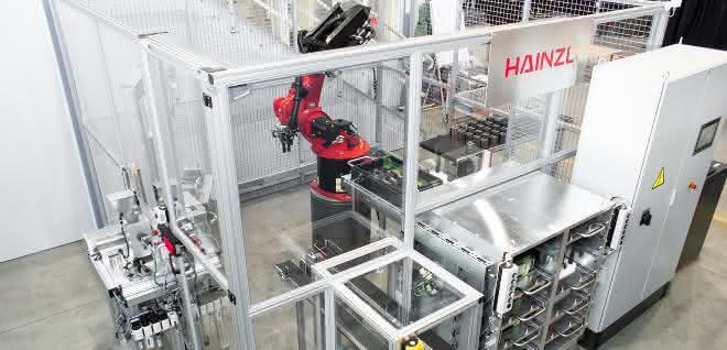 automatisierten Montagezelle