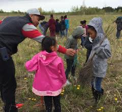 Kids in die Natur bringen und Bäume pflanzen: Aktion der ULT-Niederlassung in den USA